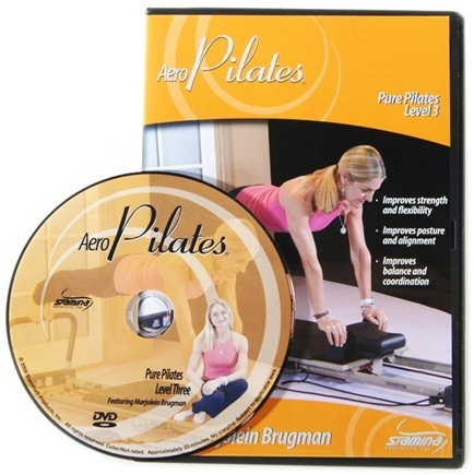 DROPPED: Stamina Products - AeroPilates Level Three Pure Pilates Workout with Marjolein Brugman DVD 05-9125D