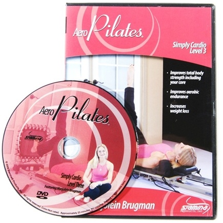 Stamina Products - AeroPilates Level Three Simply Cardio Workout with Marjolein Brugman DVD 05-9127