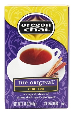 DROPPED: Oregon Chai - The Original Chai Tea - 20 Tea Bags