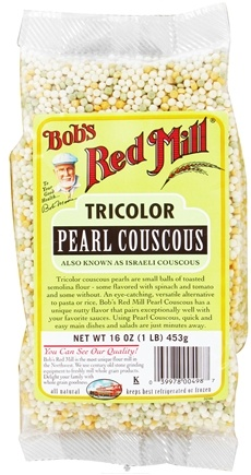 DROPPED: Bob's Red Mill - Pearl Couscous Tricolor - 16 oz. CLEARANCE PRICED