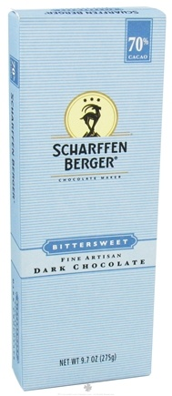 DROPPED: Scharffen Berger - Baking Chocolate Bar 70% Cacao Bittersweet - 9.7 oz.