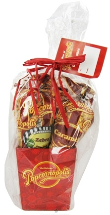 DROPPED: Popcornopolis - Best of Popcornopolis Gift Basket Assorted Flavors - 4 Pack CLEARANCE PRICED