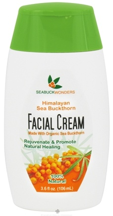 DROPPED: Seabuck Wonders - Facial Cream with Organic Sea Buckthorn - 3.6 oz.