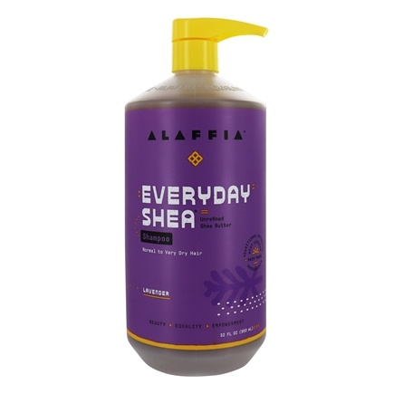 Alaffia - Everyday Shea Moisturizing Shampoo Lavender - 32 oz.