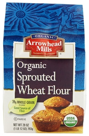 Zoom View - Organic Sprouted Wheat Flour