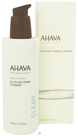 DROPPED: AHAVA - Time To Clear All In One Toning Cleanser - 8.5 oz. CLEARANCE PRICED