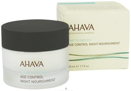 DROPPED: AHAVA - Time To Smooth Age Control Night Nourishment - 1.7 oz. CLEARANCE PRICED