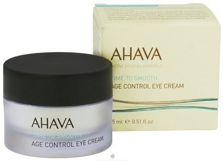 DROPPED: AHAVA - Time To Smooth Age Control Eye Cream - 0.51 oz. CLEARANCE PRICED