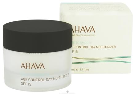 DROPPED: AHAVA - Time To Smooth Age Control Day Moisturizer 15 SPF - 1.7 oz. CLEARANCE PRICED