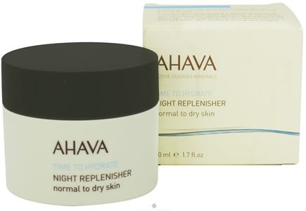 DROPPED: AHAVA - Time To Hydrate Night Replenisher For Normal To Dry Skin - 1.7 oz. CLEARANCE PRICED