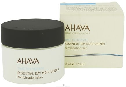 DROPPED: AHAVA - Time To Hydrate Essential Day Moisturizer For Combination Skin - 1.7 oz. CLEARANCE PRICED