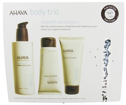 DROPPED: AHAVA - My Skin Reborn Body Trio Kit - CLEARANCE PRICED