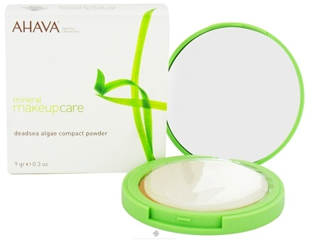 Zoom View - Mineral Makeup Care DeadSea Algae Compact Powder