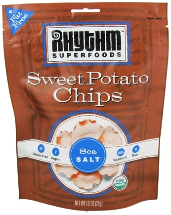 DROPPED: Rhythm Superfoods - Organic Sweet Potato Chips Sea Salt - 1 oz. CLEARANCE PRICED
