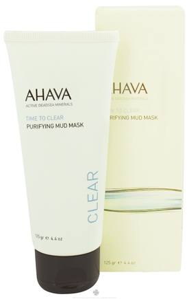 DROPPED: AHAVA - Time To Clear Purifying Mud Mask - 4.4 oz. CLEARANCE PRICED