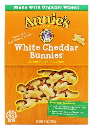 Zoom View - Bunnies All-Natural Baked Snack Crackers