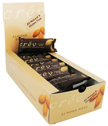 DROPPED: Crev - Truffle Bar All Natural Almond Dose - 1.8 oz.