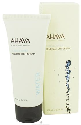 DROPPED: AHAVA - SeadSea Water Mineral Foot Cream - 3.4 oz. CLEARANCE PRICED
