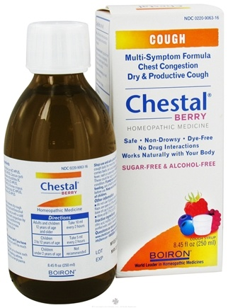 DROPPED: Boiron - Chestal Cough Syrup Berry - 8.45 oz.