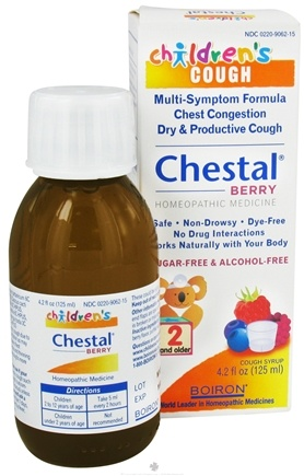 DROPPED: Boiron - Children's Chestal Cough Syrup Berry - 4.2 oz.