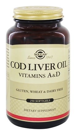 Solgar - Norwegian Cod Liver Oil - 250 Softgels