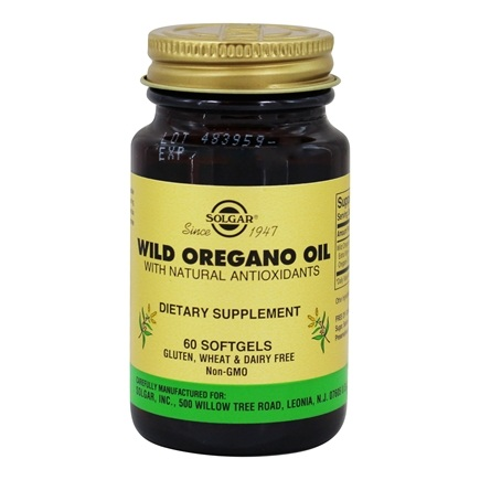Solgar - Wild Oregano Oil with Natural Antioxidants - 60 Softgels