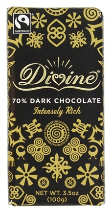 DROPPED: Divine - 70% Dark Chocolate Bar - 3.5 oz.