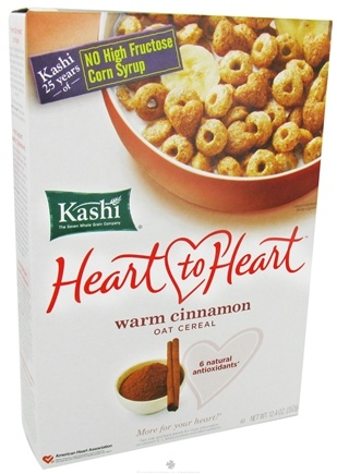 DROPPED: Kashi - Heart to Heart Oat Cereal Warm Cinnamon - 12.4 oz.