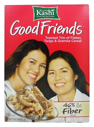 Zoom View - Good Friends High Fiber Cereal