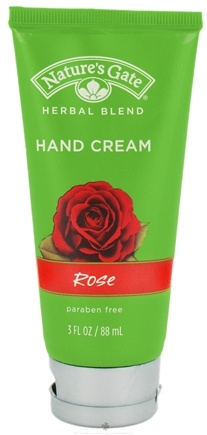 DROPPED: Nature's Gate - Hand Cream Herbal Blend Rose - 3 oz. CLEARANCE PRICED
