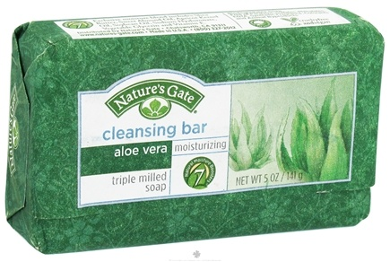 DROPPED: Nature's Gate - Cleansing Bar Soap Moisturizing Aloe Vera - 5 oz. CLEARANCE PRICED