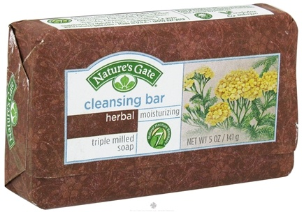DROPPED: Nature's Gate - Cleansing Bar Soap Moisturizing Herbal - 5 oz. CLEARANCE PRICED