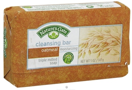 DROPPED: Nature's Gate - Cleansing Bar Soap Moisturizing Oatmeal - 5 oz.