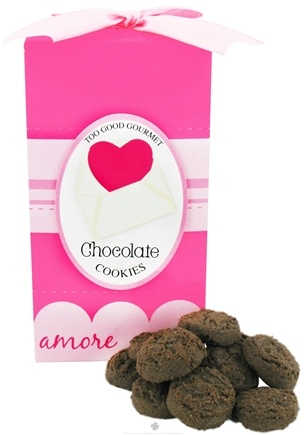 DROPPED: Too Good Gourmet - Chocolate Cookies Love Letters Pop Up - 7 oz. CLEARANCE PRICED