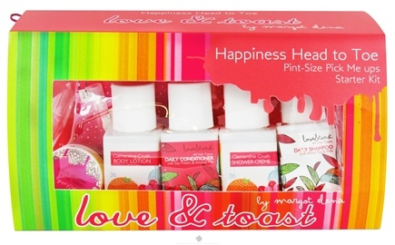 DROPPED: Love & Toast - Happiness Head to Toe Pint-Size Pick Me Ups Starter Kit Gift Set - 8 Piece(s) CLEARANCE PRICED