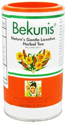 DROPPED: Bekunis - Nature's Gentle Laxative Herbal Tea - 2.83 oz.