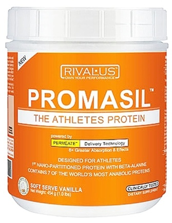 DROPPED: Rivalus - Promasil Soft Serve Vanilla - 1 lb. CLEARANCE PRICED