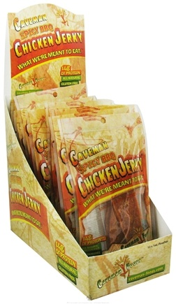 Zoom View - Caveman Chicken Jerky