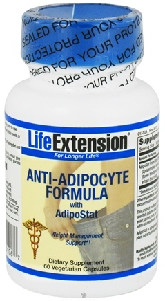 DROPPED: Life Extension - Anti-Adipocyte Formula with AdipoStat - 60 Vegetarian Capsules CLEARANCE PRICED