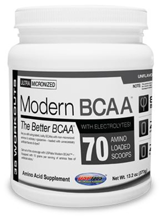 DROPPED: USP Labs - Modern BCAA Ultra Micronized Amino Acid Supplement Unflavored - 12.3 oz.