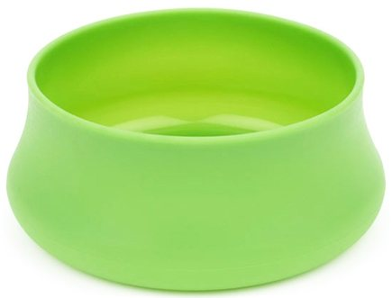 DROPPED: Guyot Designs - Squishy Dog Bowl Trail Size Lime - 24 oz. CLEARANCE PRICED