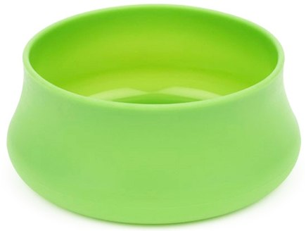 DROPPED: Guyot Designs - Squishy Dog Bowl Park Size Lime - 36 oz. CLEARANCE PRICED