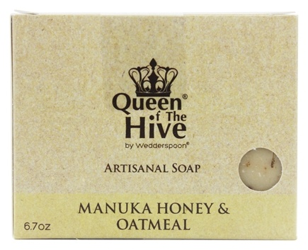 DROPPED: Wedderspoon - Mankua Honey & Oatmeal Bar Soap - 6.7 oz. Formerly Omaderm Body Bar