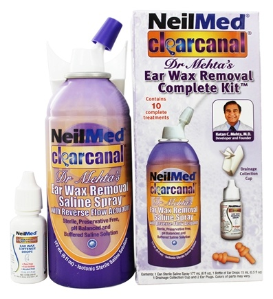 DROPPED: NeilMed Pharmaceuticals - ClearCanal Ear Wax Removal Complete Kit