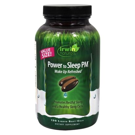 Irwin Naturals - Power to Sleep PM - 120 Softgels