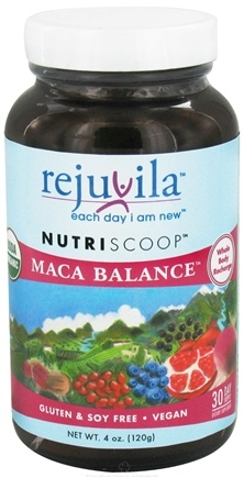 DROPPED: Rejuvila - NutriScoop Maca Balance - 4 oz. CLEARANCE PRICED