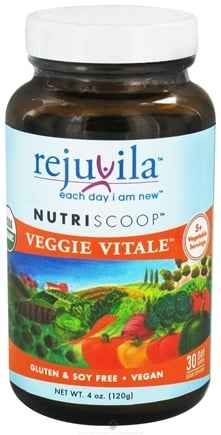 DROPPED: Rejuvila - NutriScoop Veggie Vitale - 4 oz. CLEARANCE PRICED