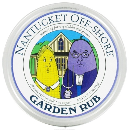 DROPPED: Nantucket Off-Shore - Garden Rub Seasoning for Vegetables and Greens - 1 oz. CLEARANCE PRICED