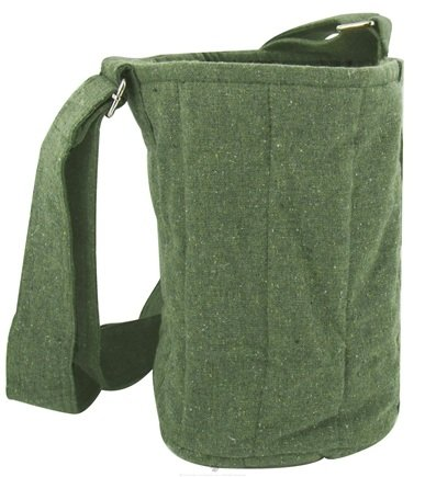 DROPPED: To-Go Ware - 3-Tier Recycled Cotton Carrier Bag Forest Green