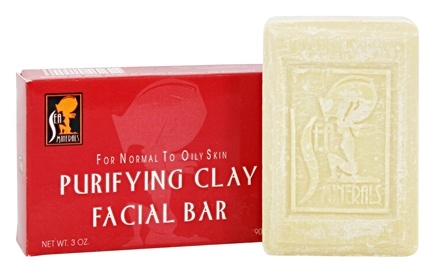 DROPPED: Sea Minerals - Purifying Clay Facial Bar - 3 oz.